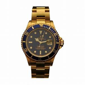 Rolex Watch Submariner 16618 Automatic winding Yellow gold ...