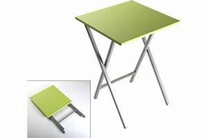 Table Basse Pliable : table d appoint pliante table basse table pliante et table de cuisine ~ Teatrodelosmanantiales.com Idées de Décoration
