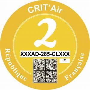 Voiture Crit Air 2 Occasion : informations d taill es sur la vignette crit ~ Medecine-chirurgie-esthetiques.com Avis de Voitures