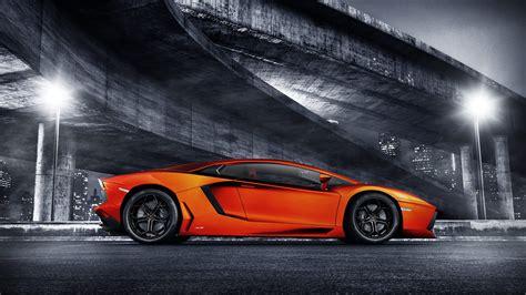 Car Wallpapers Lamborghini Aventador by Orange Lamborghini Aventador Wallpaper Hd Car Wallpapers