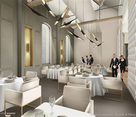 architecture d interieur restaurant penser un espace haut de gamme camille tifany architecture design d