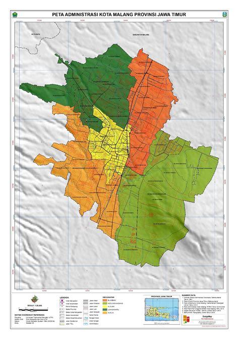 daftar kecamatan  kelurahan  kota malang wikipedia