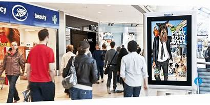 Shopping Advertising Centre Shoppers Malls Ad Outdoor