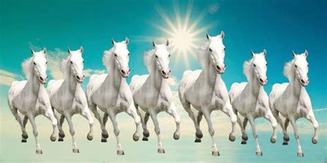 elegance  running horses canvas painting price  india