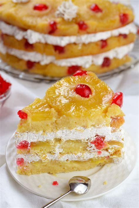 classic pineapple upside  cake recipe simplemost