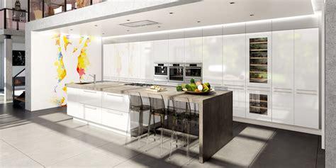 modele de cuisine moderne avec ilot cuisine contemporaine avec îlot central cuisines charles