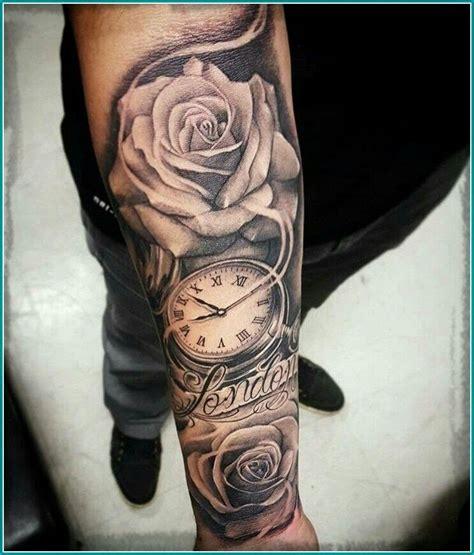 la rosa tatuajes de relojes tatuajes  mangas tatuajes