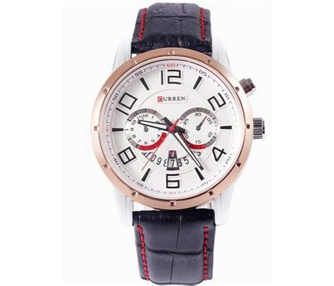 Buy Cureen Leather Starp Watch for 1835 Price in Qatar, Doha