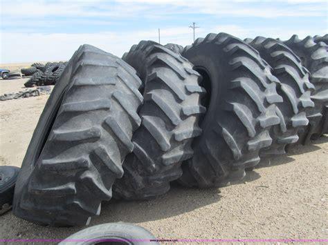 (4) Firestone 24.5r32 Tractor Tires