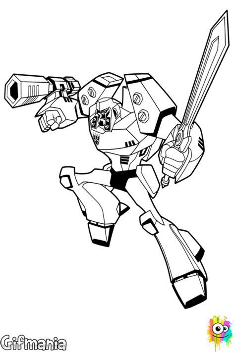 Dibujos Para Colorear Transformers Megatron Es Hellokids