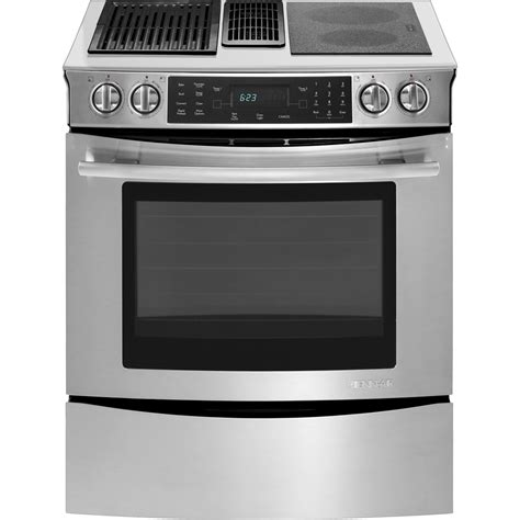 jenn air cooktop with grill electric cooktop with slide in modular electric downdraft range with convection