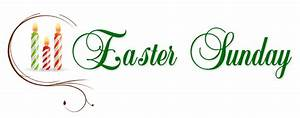 Happy Easter Sunday Clipart Images 2018