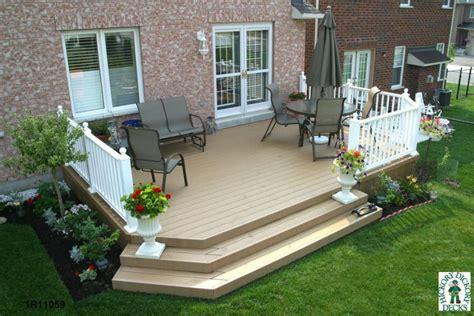 images of decking designs low diy deck plans