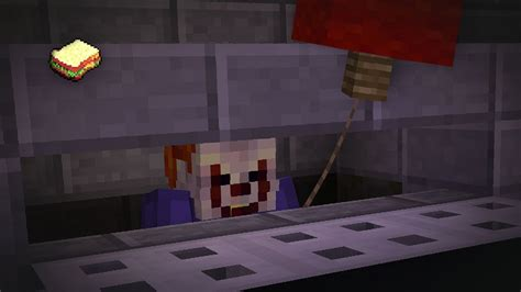 minecraft    pennywise sewer halloween special youtube