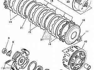 yamaha yfm350erw moto 4 1989 parts list partsmanual partsfiche With image of 1989 moto 4 yfm250w yamaha atv front wheel diagram and parts