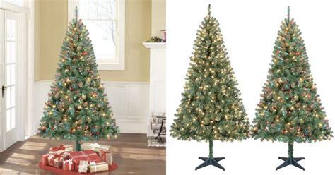 pre lit artificial christmas trees best deals cyber monday walmart cyber monday time pre lit 6 5 pine green artificial tree 33