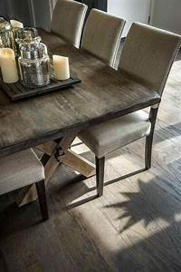 Wood dining and room sets elegant rustic farmhouse table