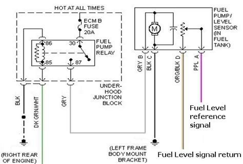 Airtex Fuel Pump Wiring Diagram Fuse Box