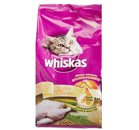Whiskas Chicken Flavour Cat Food  12 Kg Nappets
