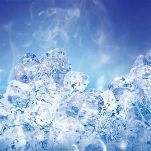 Ice crystals iPad wallpaper - HD Wallpapers