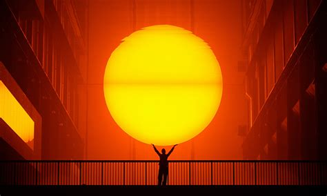 Olafur Eliasson Sun by Olafur Eliasson S Weather Project Why Did He Try To
