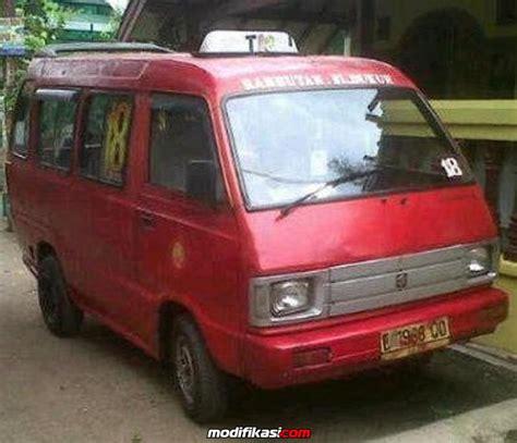 Modifikasi Angkot Carry by Suzuki Carry Angkot Kwk T18 Kp Rambutan Bl Dukuh
