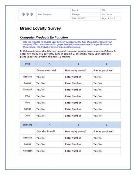 excel 2010 survey template modele questionnaire word 2010 document