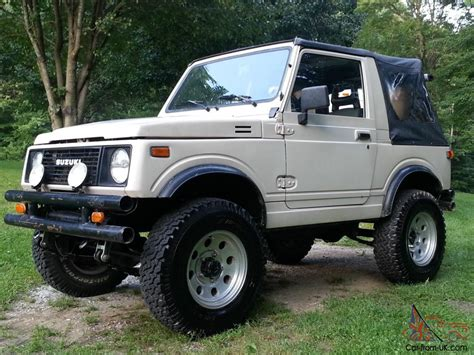 jeep suzuki samurai for sale 1988 suzuki samurai 1 9 turbo diesel jeep
