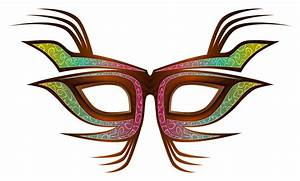 Carnival clipart masquerade mask - Pencil and in color ...