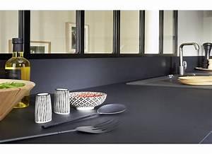 Recouvrir Plan De Travail Cuisine Adhesif : cr dence stratifi e sur mesure cuisine ~ Farleysfitness.com Idées de Décoration