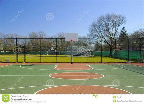 terrain de basket 2 photographie stock image 76472