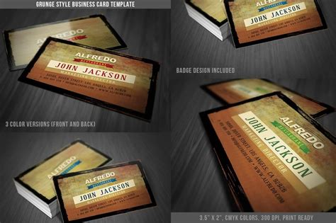 business card template ready to print 18 ready to print grunge flyer business card templates