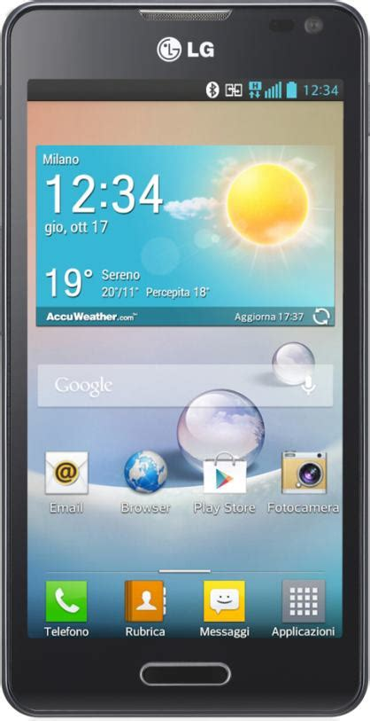 lg optimus  scheda tecnica specifiche