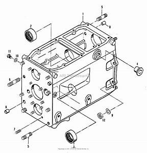 Simplicity 2097106 - 5020  Compact Diesel Tractor Parts Diagram For Transmission