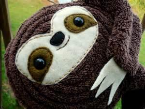 Stuffed Baby Sloth