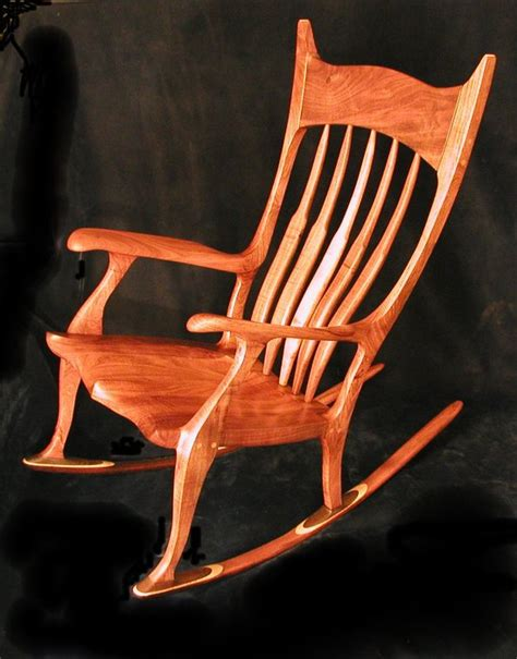 sam maloof style rocking chair free videos now posted