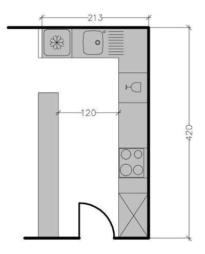 am駭ager une cuisine en l plan de cuisine en l 8 exemples pour optimiser l 39 espace kitchen design and kitchens