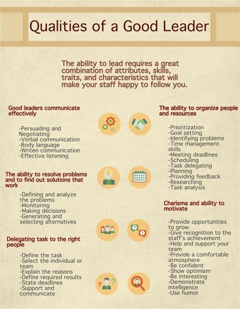 qualities   good leader business skills software