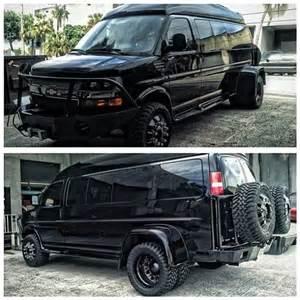 Chevy 1 Ton Dually Van