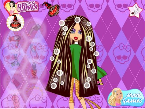 Monster High Hairstyle Game