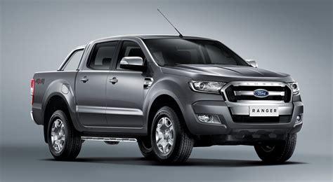 ford ranger facelift  sprinkling   xlt images