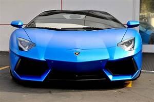 Lamborghini Aventador Roadster Matte Blue - Exotic Car ...