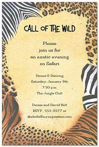 5 best images of animal print birthday invitations With leopard print invitations templates