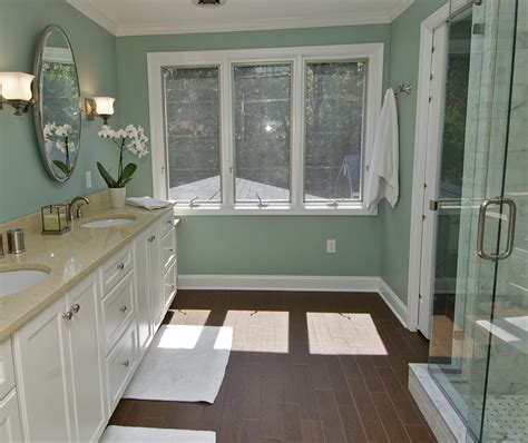 Green Brown Bathroom
