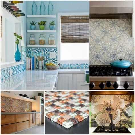 Mosaik Fliesen Küchenspiegel by K 248 Kken Bagv 230 Ggen Ideer Mosaikfliser I K 248 Kkenet