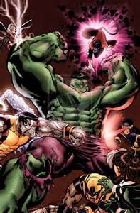 X-Men vs Hulk