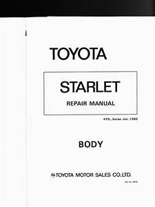 Toyota Starlet Kp6 Series Body Style Wiring Diagrams