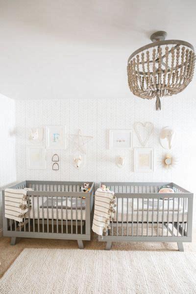 gender neutral nursery  twins nursery twins twin