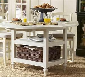 Shayne, Round, Drop, Leaf, Kitchen, Table