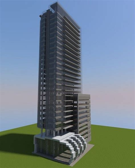 live giarratana apartment skyscraper minecraft project